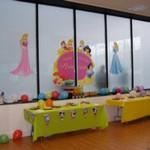 decoración de fiesta de princesas