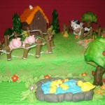 brujula tartas niño 131 150x150 - Tartas para niños