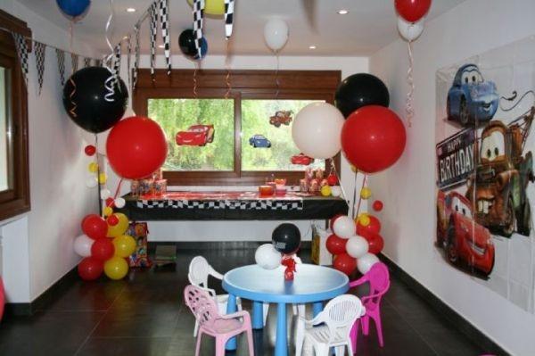 Decoracion De Fiestas Infantiles Cars Cumpleanos Tematico
