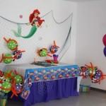 decoracion la sirenita ariel