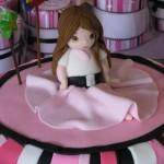 tartas de muñecas