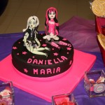 decoracion de tartas monster high