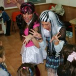 fiesta con decoración monster high